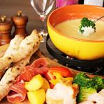 ミア ボッカ - 料理写真:チーズフォンデュ