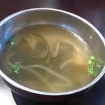 韓美食 オンギージョンギー - スープ