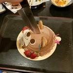 80228867 - クマさんのチョコケーキ