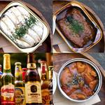サクラカフェ神保町 - 世界の缶詰ビールセット