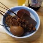 美松 - 料理写真:「味噌おでん 1つ (100円)」