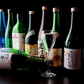 料理の魅力を引き立てる豊富な美酒