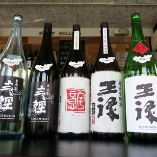 イタリアンとは思えない【日本酒】の品揃え!