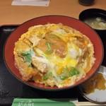 丼 笹陣 - チキンかつ丼(御飯大盛)
