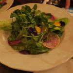 トネリコ - 10種野菜のミネストラ・サラダ