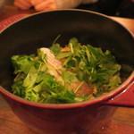 トネリコ - 真鯛とズワイガニのストウブの炊き込みご飯1