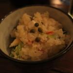 トネリコ - 真鯛とズワイガニのストウブの炊き込みご飯2