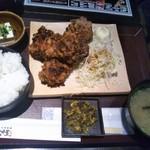 80233825 - 竜田揚げ定食 780円(税込)(2018年1月30日撮影)