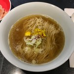 Japanese Soba Noodles 蔦 - 6周年限定「7年目の架けSoba~6年目の節目~ 削りおかかご飯添え」1000円