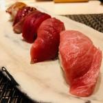 江戸前 びっくり寿司 - 大とろの画は最高!