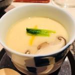 江戸前 びっくり寿司 - 茶碗蒸し味噌汁セット(650円)