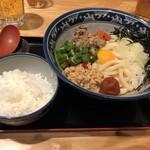 釜たけ流 うめだ製麺所 - ひっぱりうどん850円(税込)