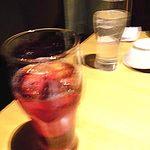 蟹しぐれ - カシスソーダ、梅酒