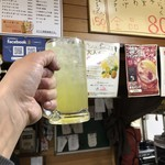たちのみねこ - 沖縄パイナップルチューハイ280円(税込) ※これが大人のチューハイだ!