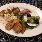 イタリアン クラシコ - 前菜の6種盛合わせ880円(税別)