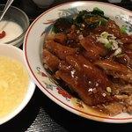 楽膳 - ■特製油淋鶏あんかけご飯 850円