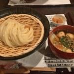 80241080 - HOTつけ麺+古代米ご飯
