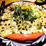 蟹しぐれ - 新鮮野菜と蟹サラダ