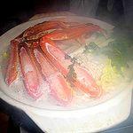 蟹しぐれ - 生ズワイと新鮮野菜の水炊き鍋