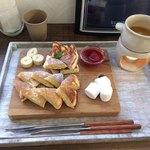 クルミ - とろーりフォンデュと大山豆腐パンケーキ