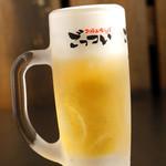 ごっつい - キンキン生ビール