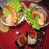 ビストロ がぶり - 料理写真:彩りコース(「本日の前菜盛、ぷりぷり海老のカクテル、ブリスケッタ」上側)