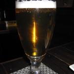 ビストロ がぶり - 飲み放題ドリンク「生ビール(アサヒスーパードライ)」