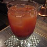 ビストロ がぶり - 飲み放題ドリンク「カシスオレンジ」
