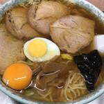 大勝軒(北習志野西口) - 料理写真:チャーシューメン+生卵