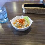 びっくりドンキー - 料理写真:先出のサラダ