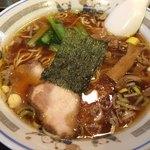 びぜん亭 - 支那そば(600円)
