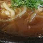 讃岐うどん さくらや - とろみのあるカレー味の餡