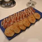 RESTAURANT SANT PAU - ホセリート社イベリコ豚の生ハム