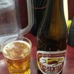 レストラン ポパイ - 瓶ビール KIRIN 550円