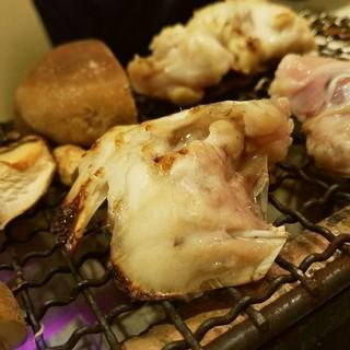 嘉 - 料理写真:虎河豚 炭火焼