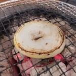 七輪焼肉安安 - 玉ねぎ