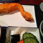 太郎坊 - 鮭定食