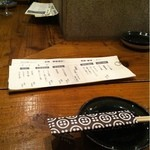 酒ト飯 イイダ - カウンター