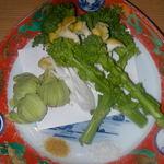 味三昧 - 春野菜天ぷら