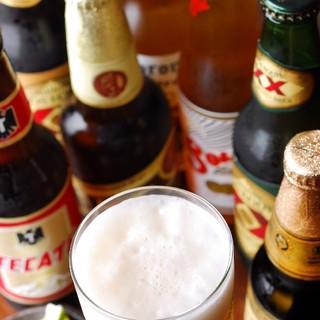 メキシコビールは<全7種>!お気に入りを見つけてみては?