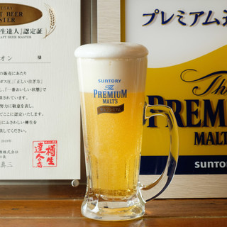 美味しいビールには秘密あり☆達人のビールを召し上がれ!