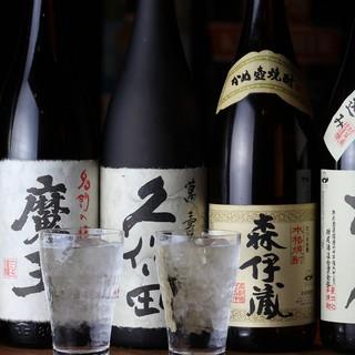 《種類豊富》プレミアム焼酎と贅沢果実酒で至福の時間
