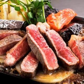 【シーズンメニュー】AU産短角牛サーロインステーキ
