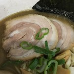 麺工房 武 - チャーシュー✧*。 少し薄め