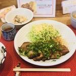 ひなた - 料理写真:チャーシューネギまみれ定食(大)
