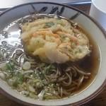 千頭駅売店 - 料理写真:天ぷらそば