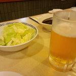 松葉 - ビールとキャベツ