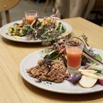 チャヤ ナチュラル&ワイルドテーブル - 間違ってお友達がオーダーしたプレートを食べちゃった!       お喋りに夢中で気がつかなかった(*≧∀≦*)