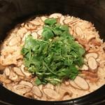 御料理 堀川 - 穴子と牛蒡の炊き込みごはん♪