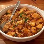龍祥軒 - 麻婆豆腐♡これも好み♡ほんのり辛くて味は濃いめです。